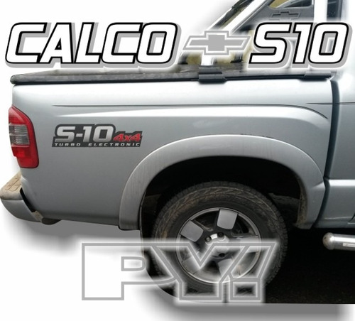 calco chevrolet s10 turbo electronic -  calcomania ploteoya!