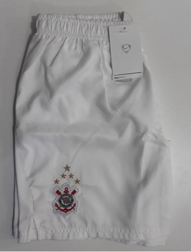 Calção Corinthians Nike Original Infantil Temp.2009 Tam. Gg - R  120 ... e8ee912a9d8f9