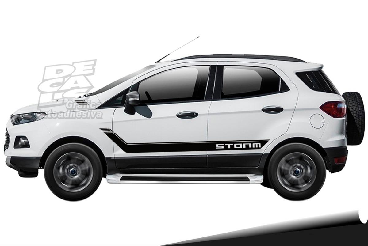 Calco Decoracion Ford Ecosport Storm 640 00 En Mercado Libre
