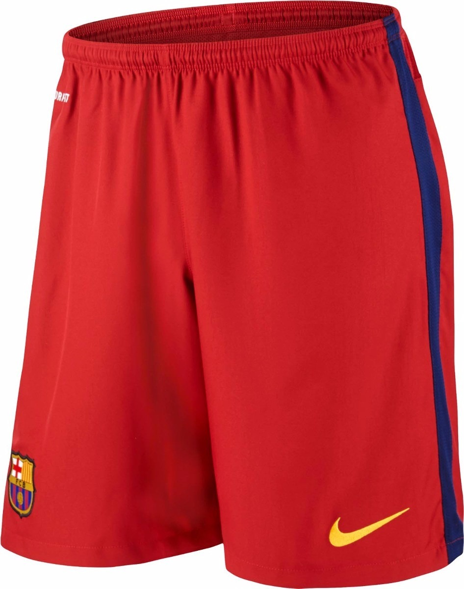 calção do barcelona novo jogador de futebol bermuda shorts. Carregando zoom. e9e4a361f25b9