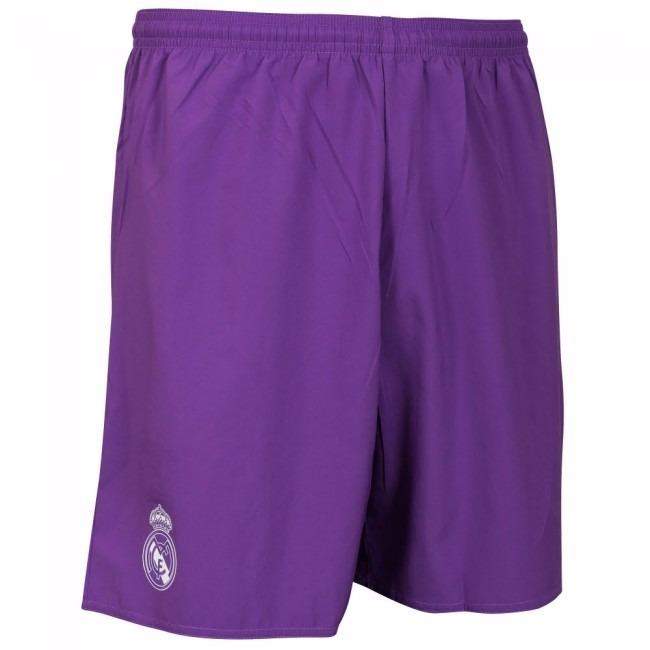 Calção Do Real Madrid Branco Rosa Jogador Shorts adidas Cinz - R  59 ... 2016624c6fab5
