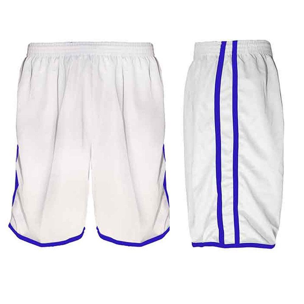 00d5300f0e3c4 Calção Futebol Futsal Musculação-lotus-branco azul - Adulto - R  33 ...