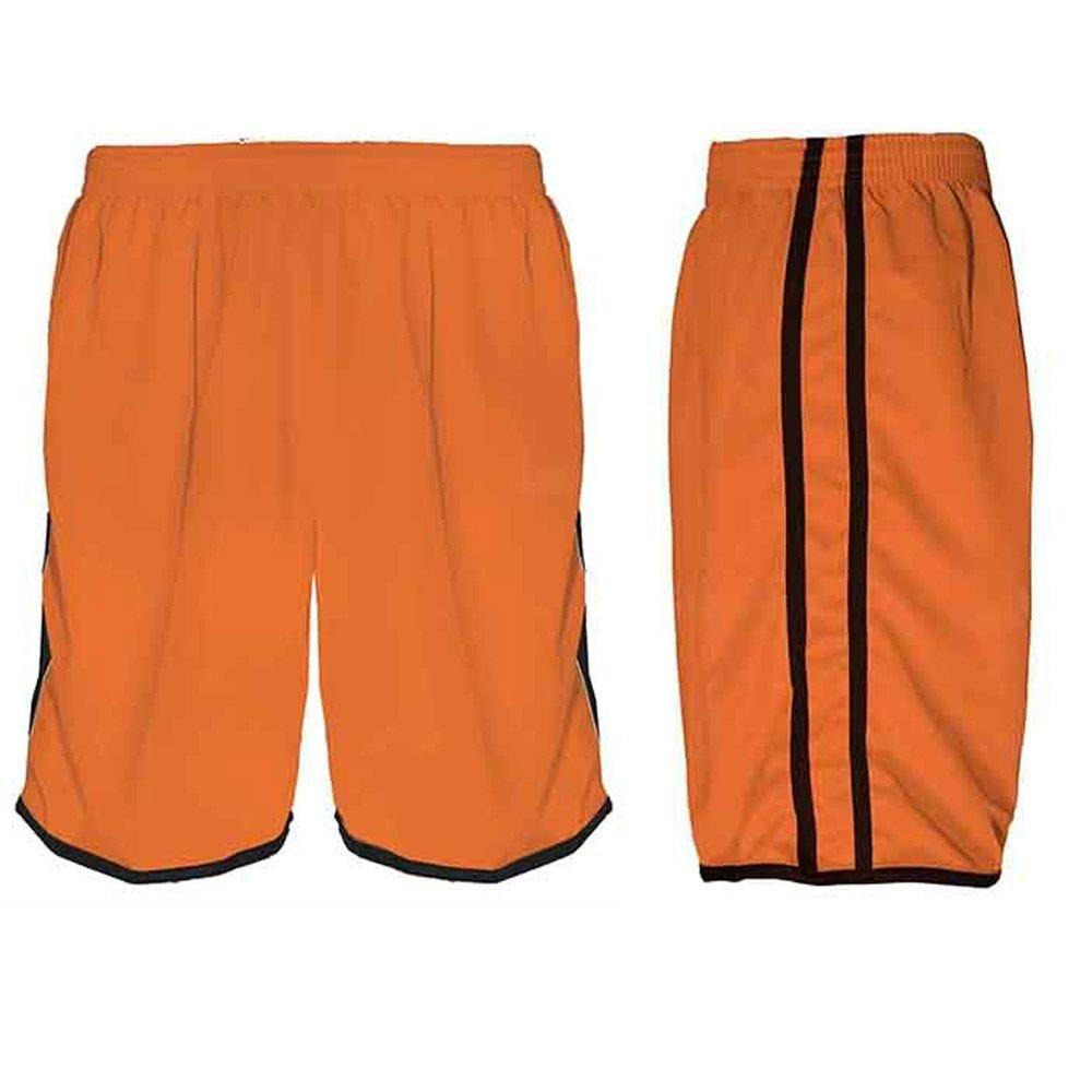 calção futebol futsal musculação-lotus-laranja preto- adulto. Carregando  zoom. ac90216199ce1