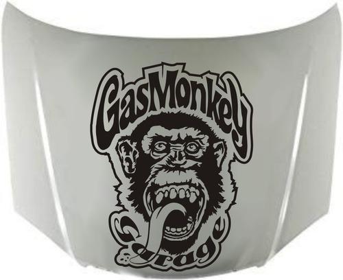 calco gas monkey para capot 01 calcomanias graficastuning 00044