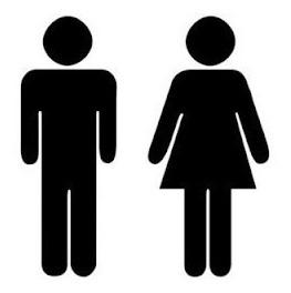 e14da663ec58 Calco Logo Baño Hombre Mujer (pack X 2 Unidades)