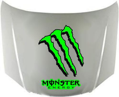 calco monster energy para capot - graficastuning calcomanias