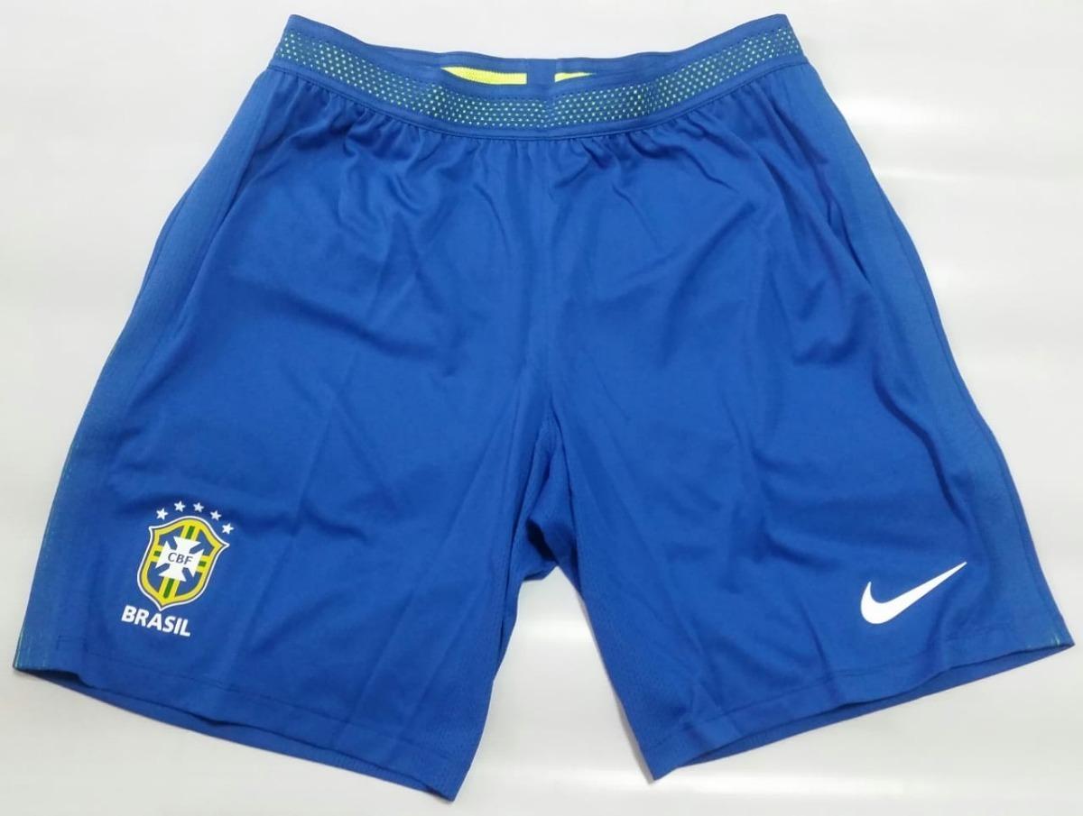 121088d1ef calção nike seleção brasileira home i azul 2016 jogador. Carregando zoom.