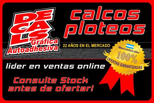 calco oyota hilux srv 2005 kit decoracion y turbo intercoole