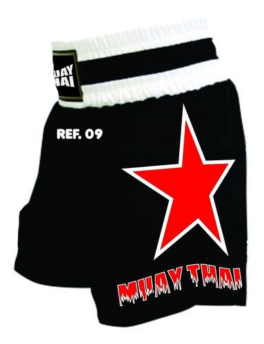 calção para muay thai boxe mma  short personalizado luta mma