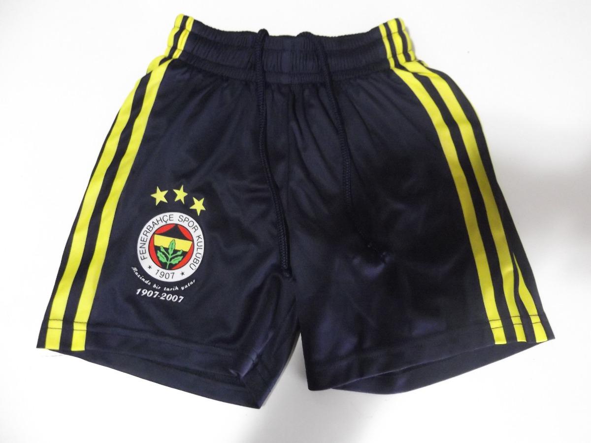 16517b1d882 calção shorts adidas infantil fenerbahce galatasaray 5 anos. Carregando zoom .