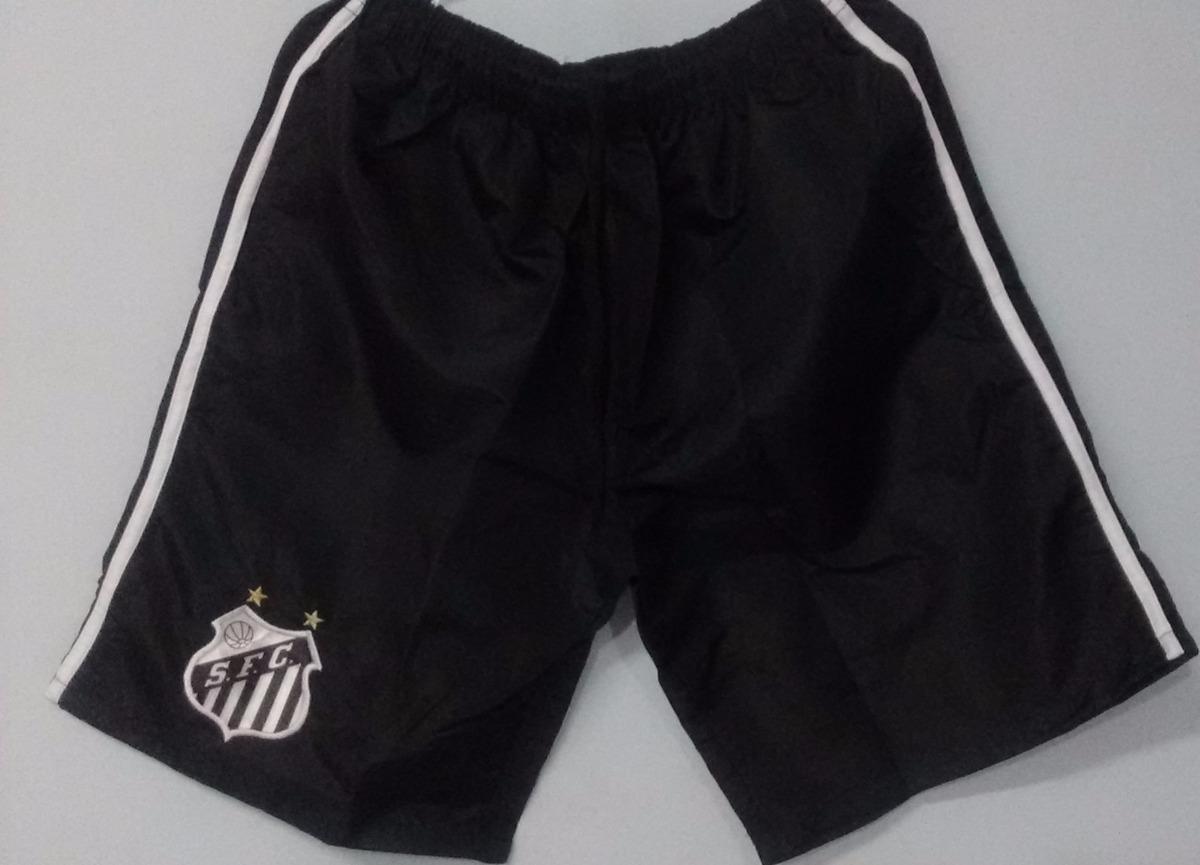 calção shorts do santos barata. Carregando zoom. 75483585650f9
