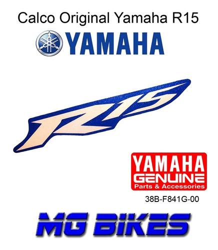 calco yahama r15 original mg bikes