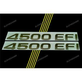 Calcomania 4500 Efi Para Toyota Machito Precio Por Unidad