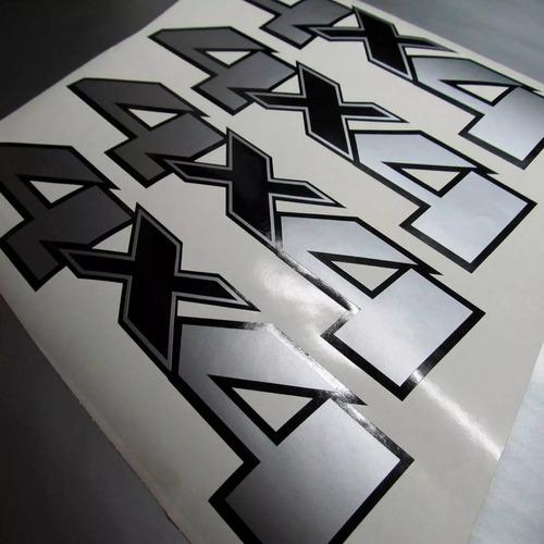 calcomania 4x4 chevrolet silverado diseño original