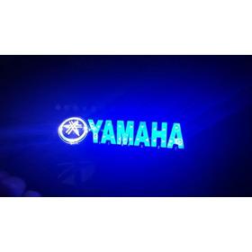 Calcomania Con Luz Led  Moto Yamaha Diseño Exclusivo Lujo