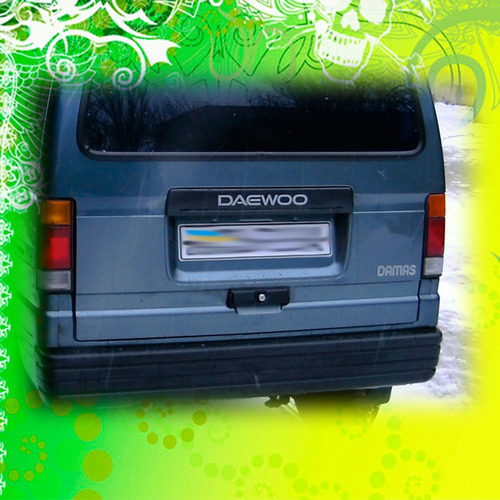 calcomania daewoo damas porton