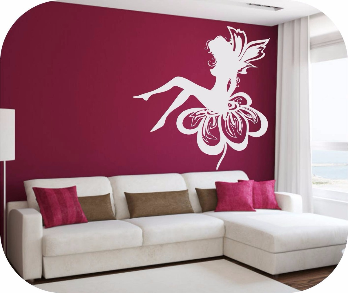 Calcomania decorativas hadas infantiles stickers paredes - Calcomanias para paredes ...