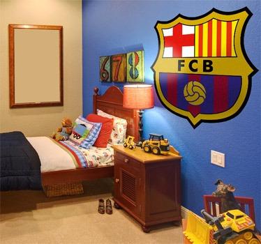 Calcomania gigante del escudo del barcelona bs en mercado libre - Habitaciones infantiles barcelona ...