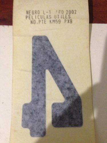 calcomanía o sticker 4x4 dodge ram 1500,2500,3500,dakota