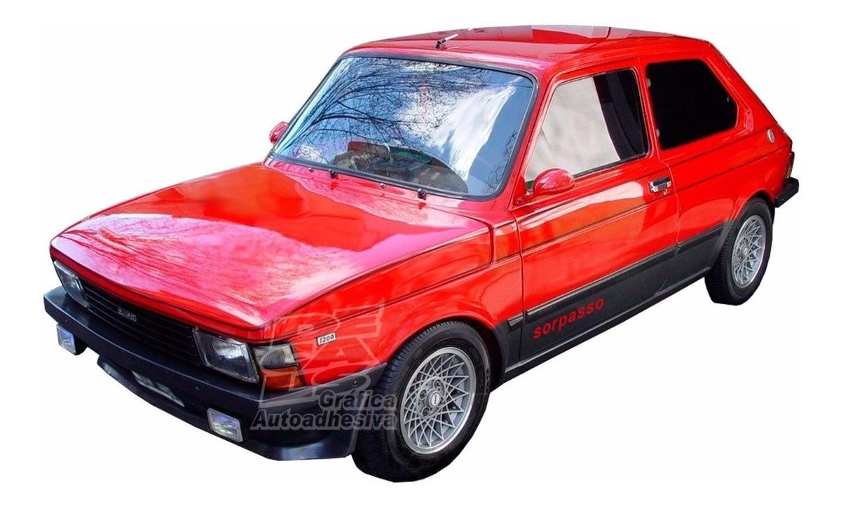 Calcomania Palabra Sorpasso Lateral De Fiat 147 Iava 326 00 En