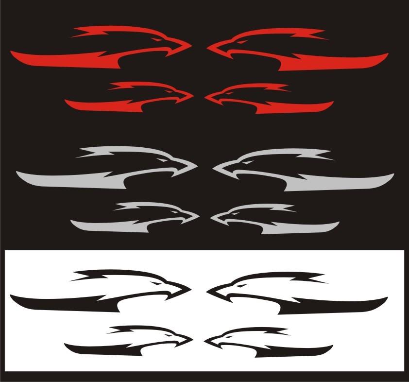 Calcomania para rines moto suzuki hayabusa logo 2013 bs for Calcomanias pared