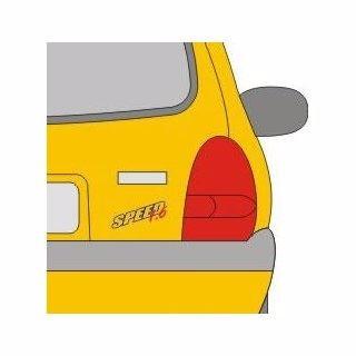 calcomania sticker emblema original 3m azul corsa speed 1.6