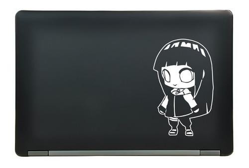 calcomanía sticker hinata hyuga chibi naruto anime manga laptop auto ventana 4.47x7.25 pulgadas wd13