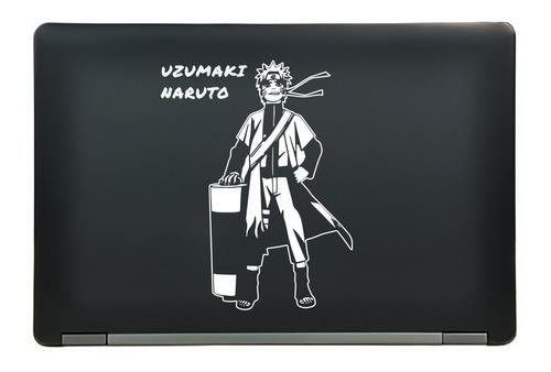 calcomanía sticker naruto uzumaki anime manga laptop auto ventana 5.57x7.25 pulgadas wd39