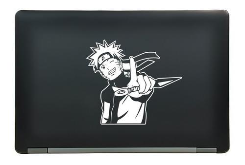 calcomanía sticker naruto uzumaki smile anime manga laptop auto ventana 4.51x7.25 pulgadas wd55