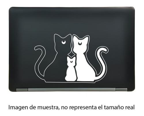 calcomanía sticker sailor moon cats luna artemis diana anime manga laptop auto ventana 7x4.63 pulgadas wd7