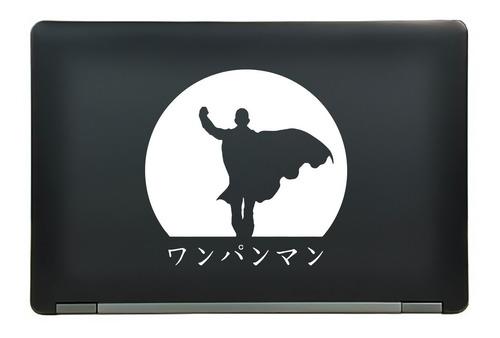 calcomanía sticker saitama kanji sunset one punch man anime manga laptop auto ventana  6.25x6.06 pulgadas wd44