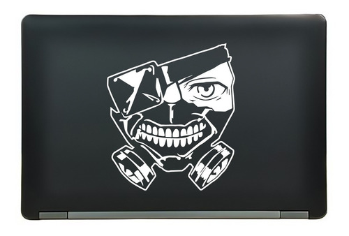 calcomanía sticker tokyo ghoul ken kaneki anime manga laptop auto ventana 6.25x7.19 pulgadas wd4