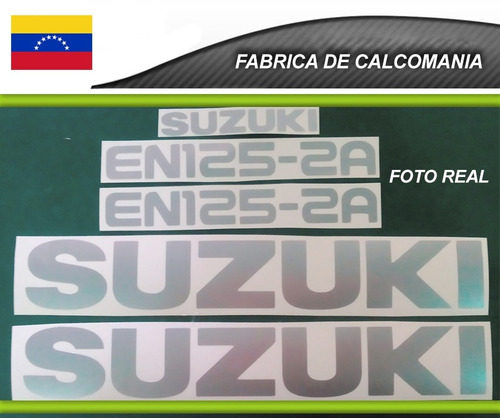 calcomanía suzuki en 125 kit completo
