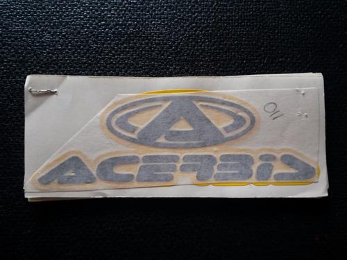 calcomanias auto adhesivas acerbis