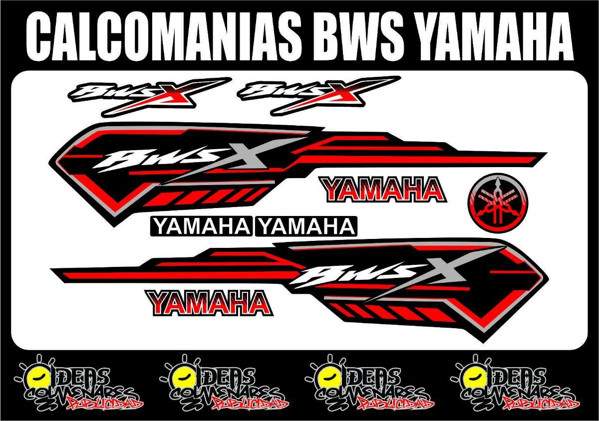 Calcomanias bws yamaha bs en mercado libre for Calcomanias para pared