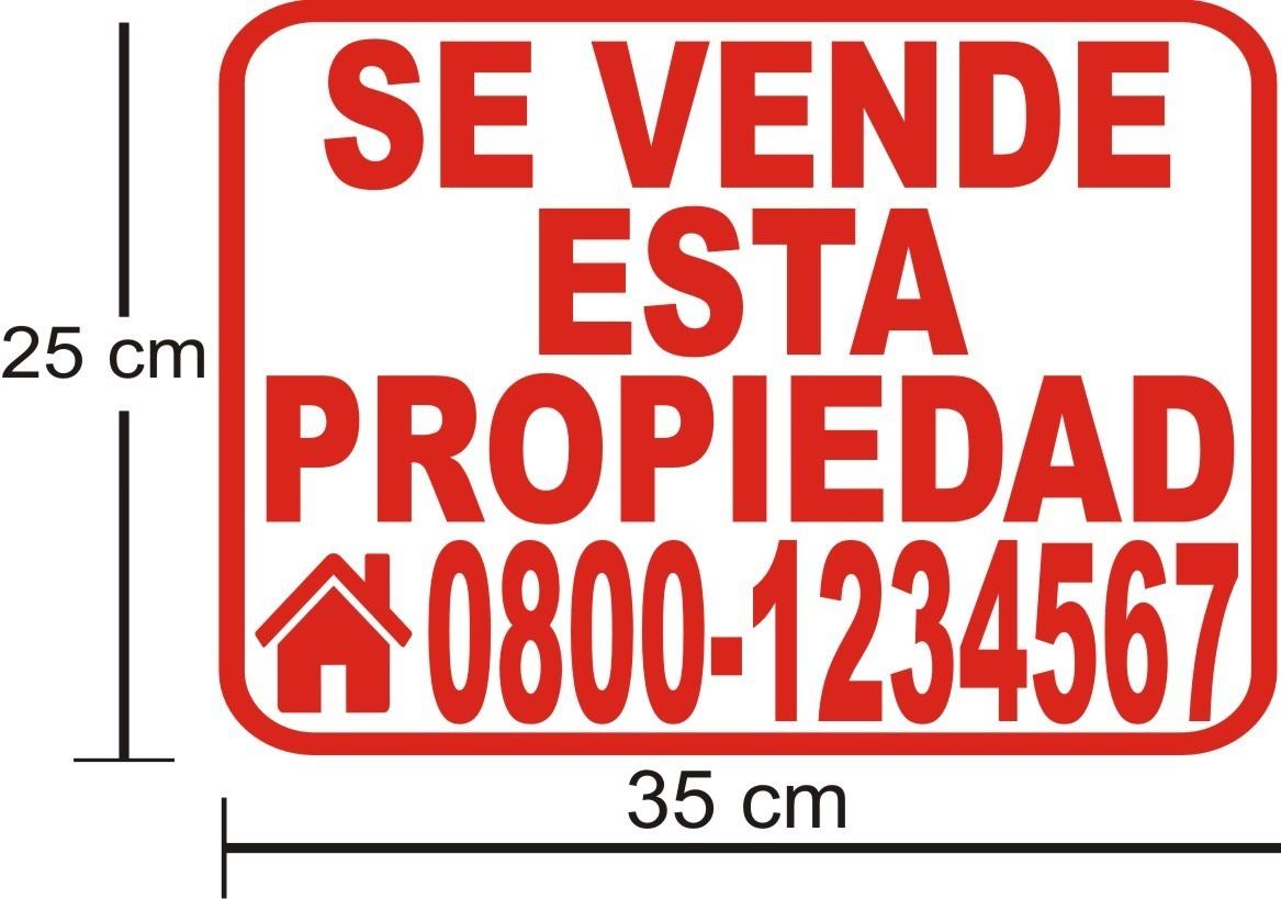 Calcomanias de se vende carro casa de 30 x 20 cm bs en mercado libre - Se vende casa mallorca ...