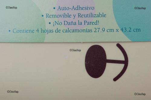 calcomanias decorativas reutilizables
