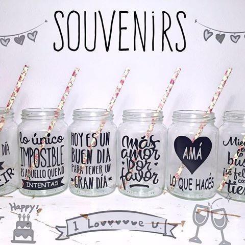 calcomanias en vinyl rotulado para frascos, vasos, copas etc