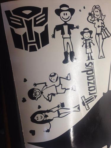calcomanías familia! stickers! vinilos personalizados!