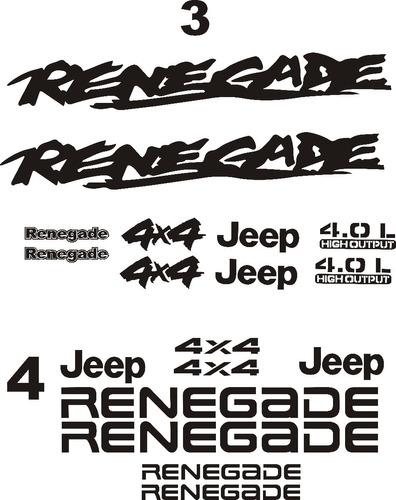calcomanias jeep kits wrangler 4.0 jk cj tj yj , rusticos.