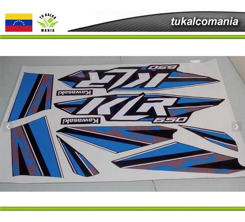 calcomanías klr-650 2014