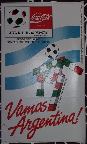 calcomanias mascotas mundial 1982 - 1990 !!! originales
