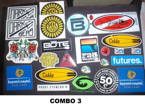 calcomanias originales surf skate vende x unidad y por combo