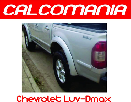 calcomanias para chevrolet luv d-max