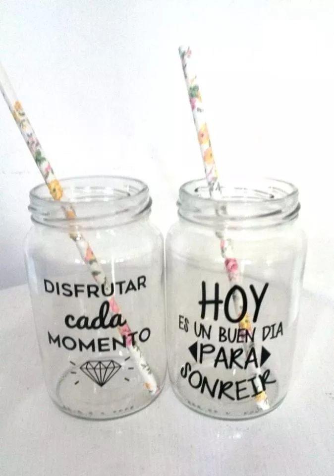 Calcomanias para decorar vasos y frascos bs en mercado libre - Vidrio plastico transparente precio ...