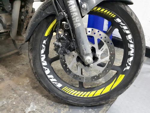 calcomanias reflectivas para rines de motos