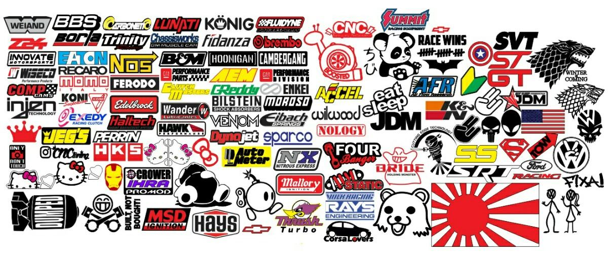 Calcomanias stickers jdm racing dub lo mas nuevo cnc for Donde venden stickers para pared