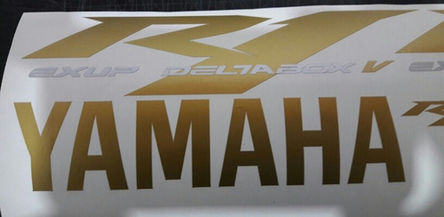 calcos adhesivos yamaha r1 exup deltabox v