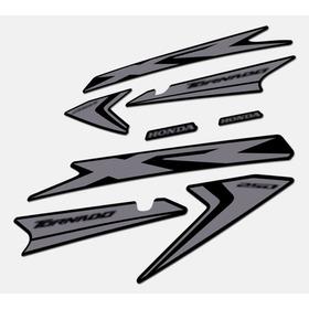Calcos Alternativo Dorado/plateado Tornado Xr250 Mod. Nuevo