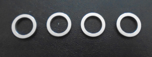 calços espaçadores para parafuso da coroa ( 4 unidades).